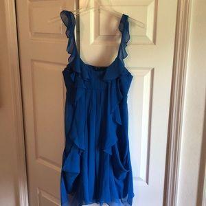 Blue BCBG Chiffon Dress